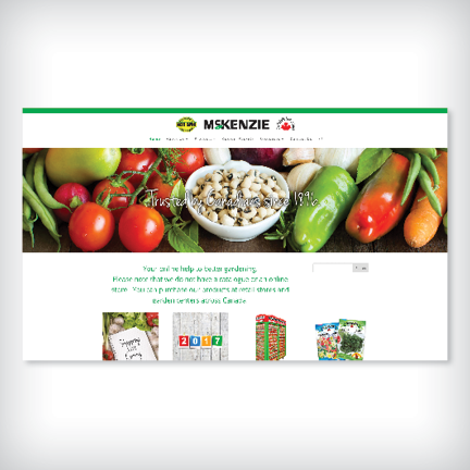 McKenzie Seeds Website