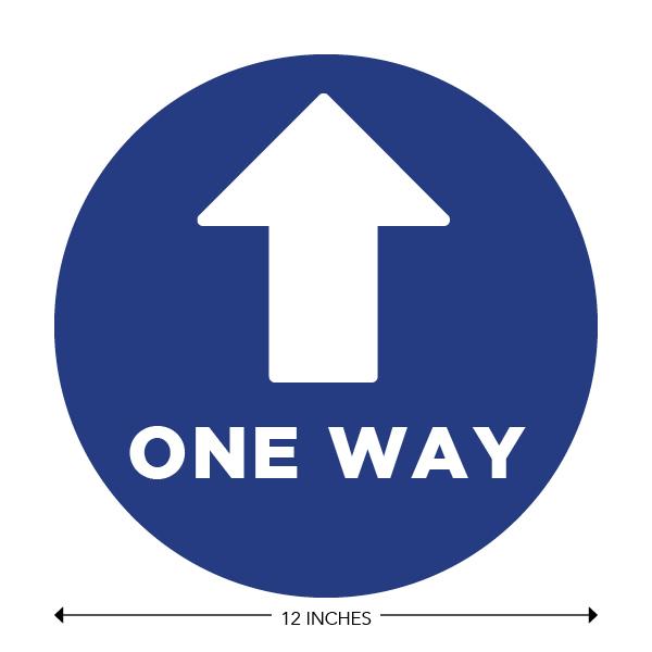 COVID-19 - School Signage - One Way Forward (ONE-WAY-FORWARD)
