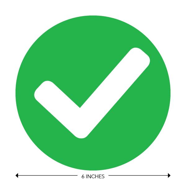 COVID-19 - School Signage - Green Checkmark (PRE-CHECK)