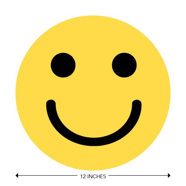 COVID-19 - School Signage - Happy Face (PRE-HAPPY-FACE)