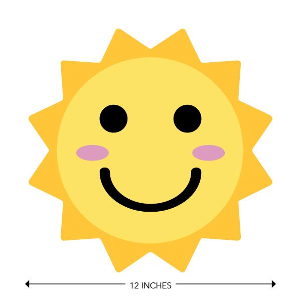 COVID-19 - School Signage - Happy Sun (PRE-HAPPY-SUN)