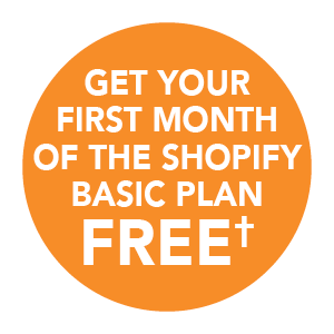 Get your first month of the Shopify Basic plan FREET