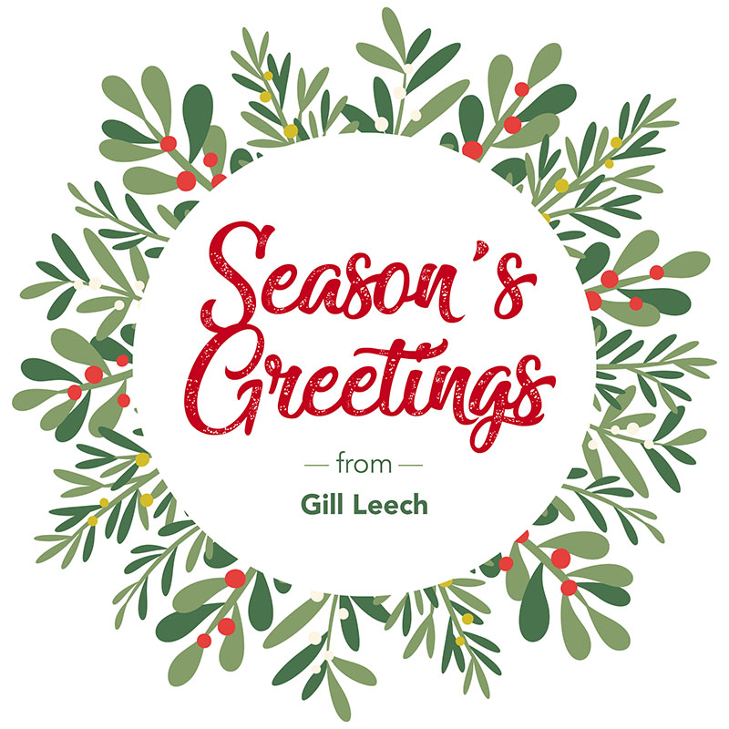 Season's Greetings from Meredyth Leech, Leech Printing